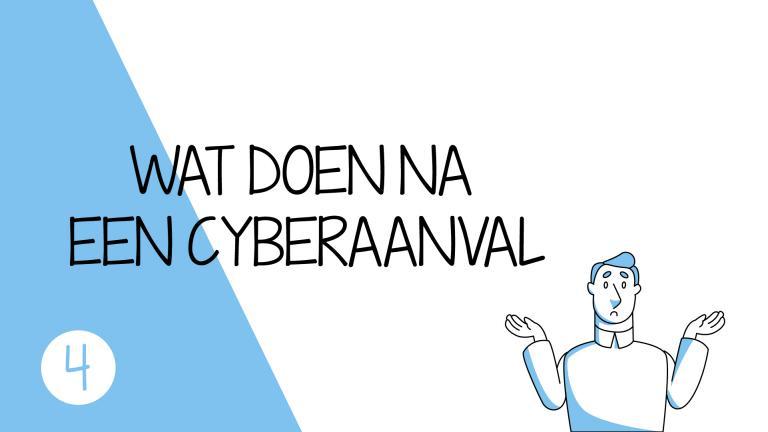 Na een cyberaanval